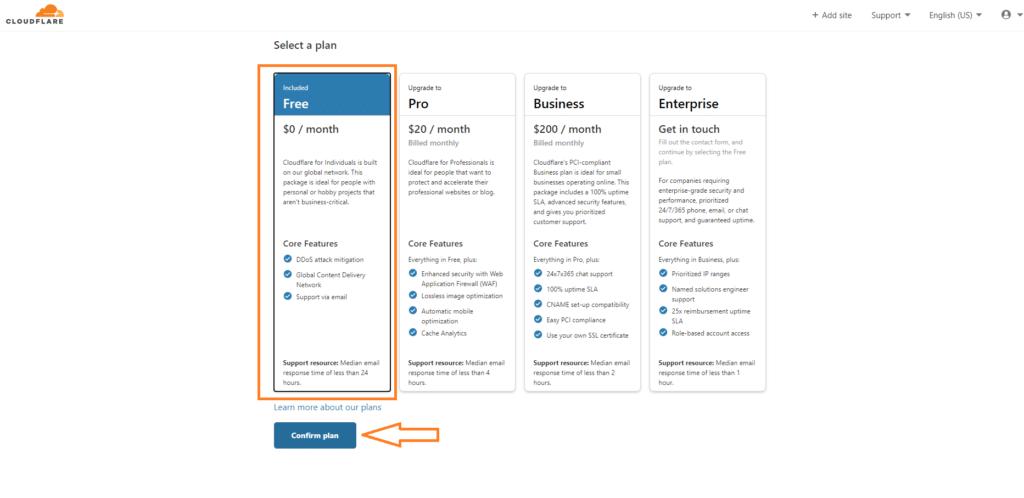 Cloud Flyer Subscription Plan
