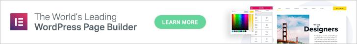 Elementor Page Builder WordPress Plugins