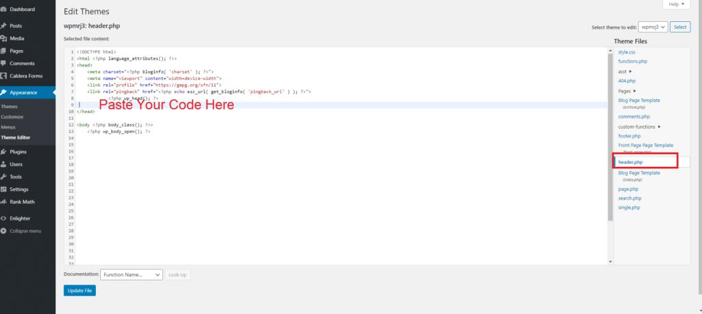 How To add my website to Google Analytics Step 5