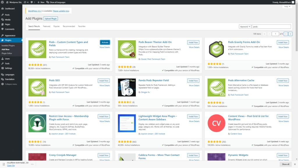 Creating Custom Post Types in WordPress using a Plugin pods