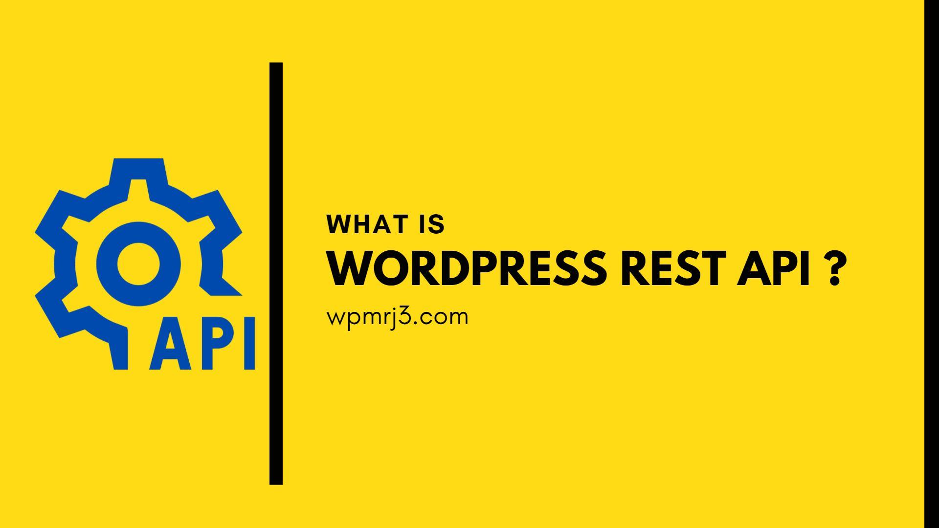 ما هو WordPress REST API؟ وكيف يمكن تعلم REST API من الصفر