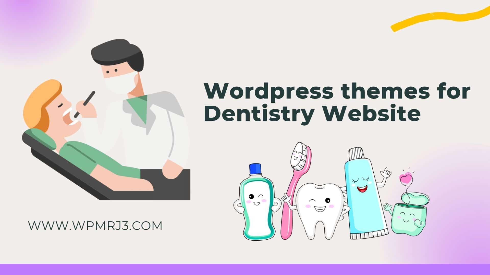 افضل ثيمات ووردبريس لموقع طب أسنان
